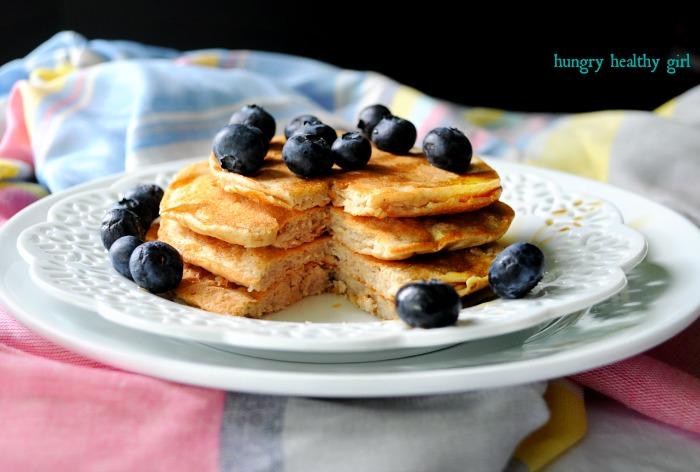 ProCakes High Protein Pancake Mix- light, fluffy and delicious! #pancakes #highprotein #glutenfree #kidfriendly #breakfast @ProCakes @KimLeeHungry