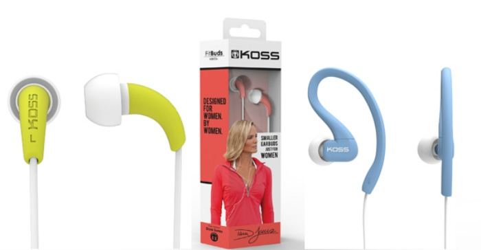 Koss FitBuds and FitClips Giveaway
