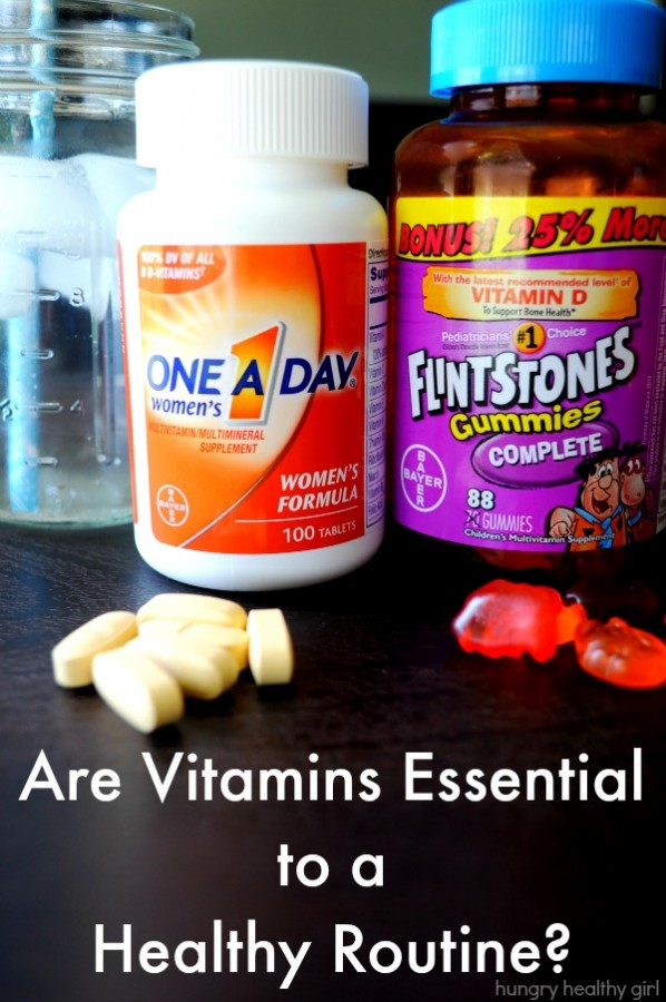 Why vitamins may be essential to a healthy routine.