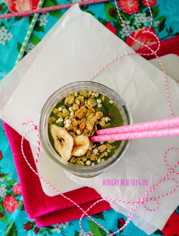 Your morning coffee and breakfast, blended together for maximum nutrition and yumminess!