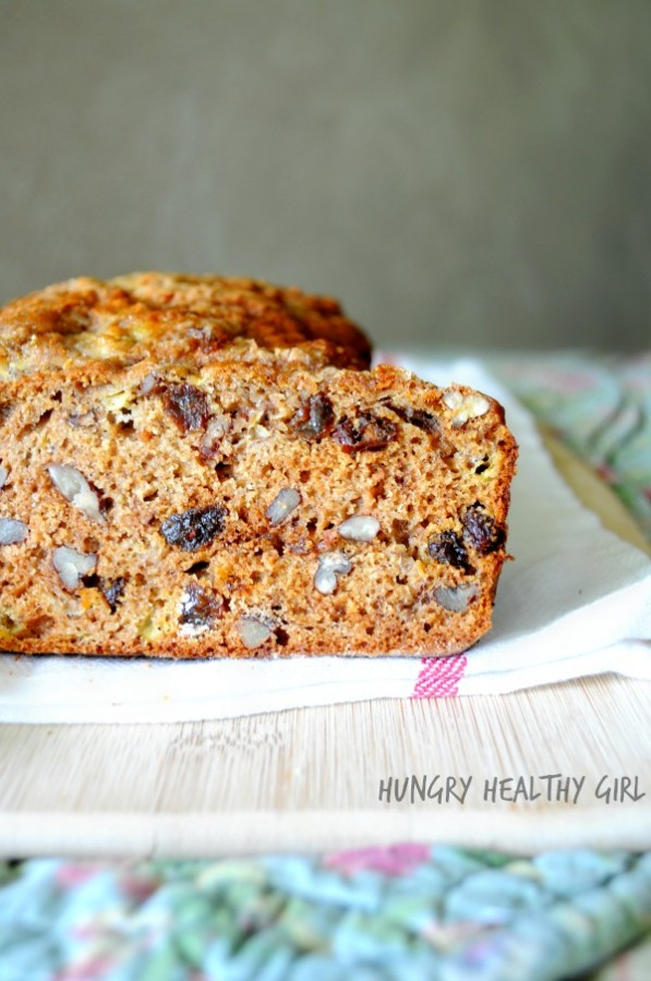 Ultimate Banana Bread- healthy and yumilicious!