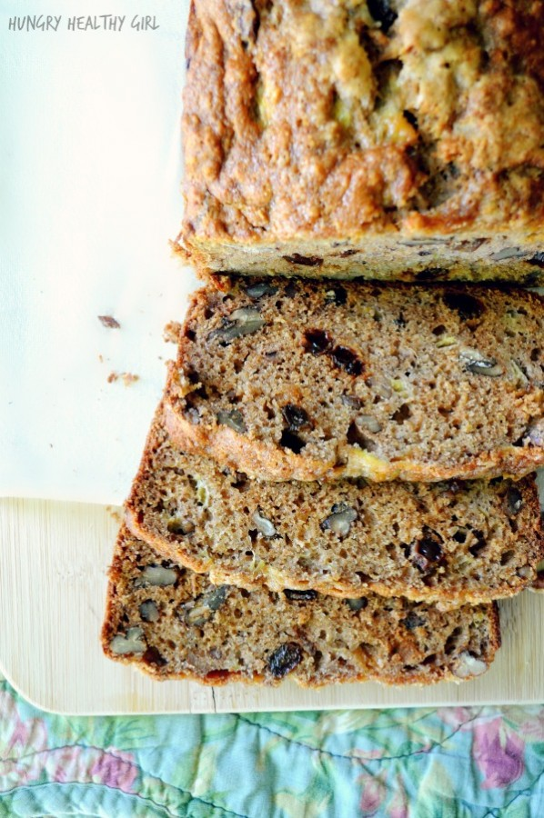 The Ultimate Banana Bread- a scrumptious bread made with all natural ingredients.