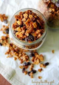Oatmeal Raisin Cookie Granola
