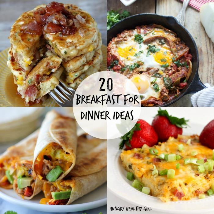 20 Breakfast for Dinner Ideas