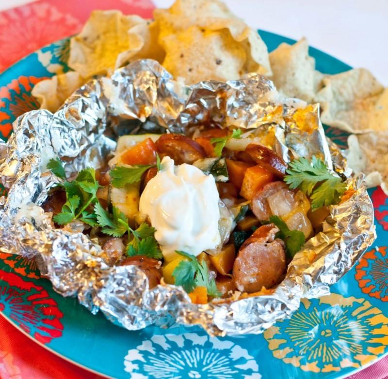 chipotle-sweet-potato-foil-pack