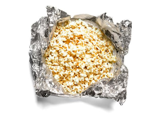 popcorn on the grill