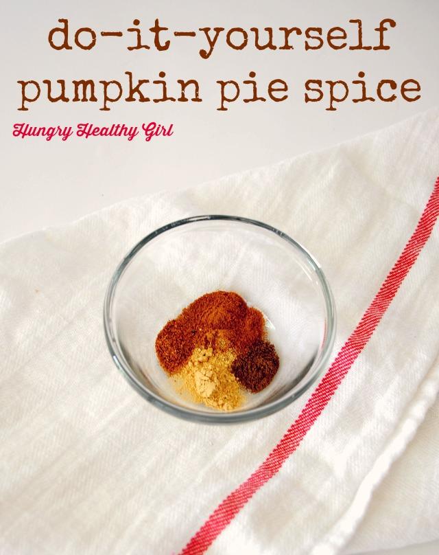 do-it-yourself pumpkin pie spice