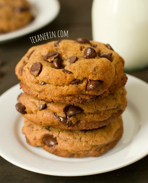 Healthier New York Times Chocolate Chip Cookies