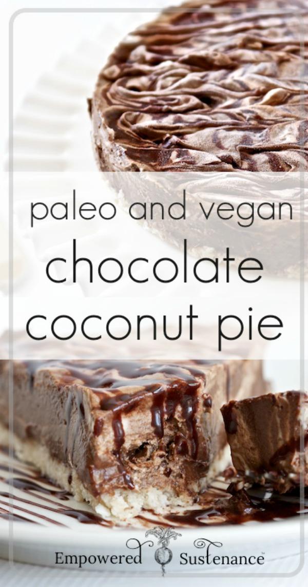 chocolate coconut pie