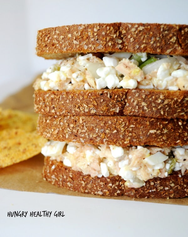 classic tuna salad made healthier