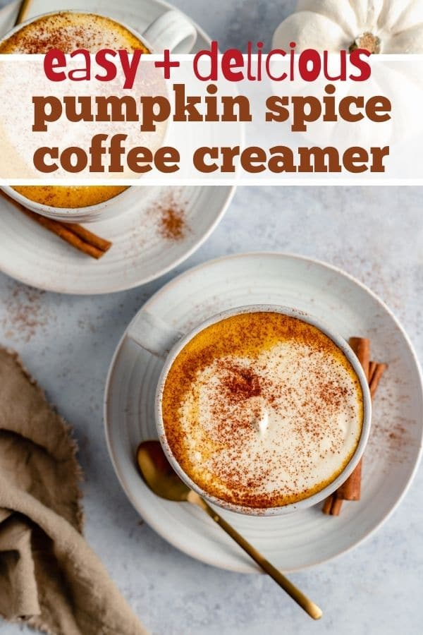 how to make pumpkin coffee creamer