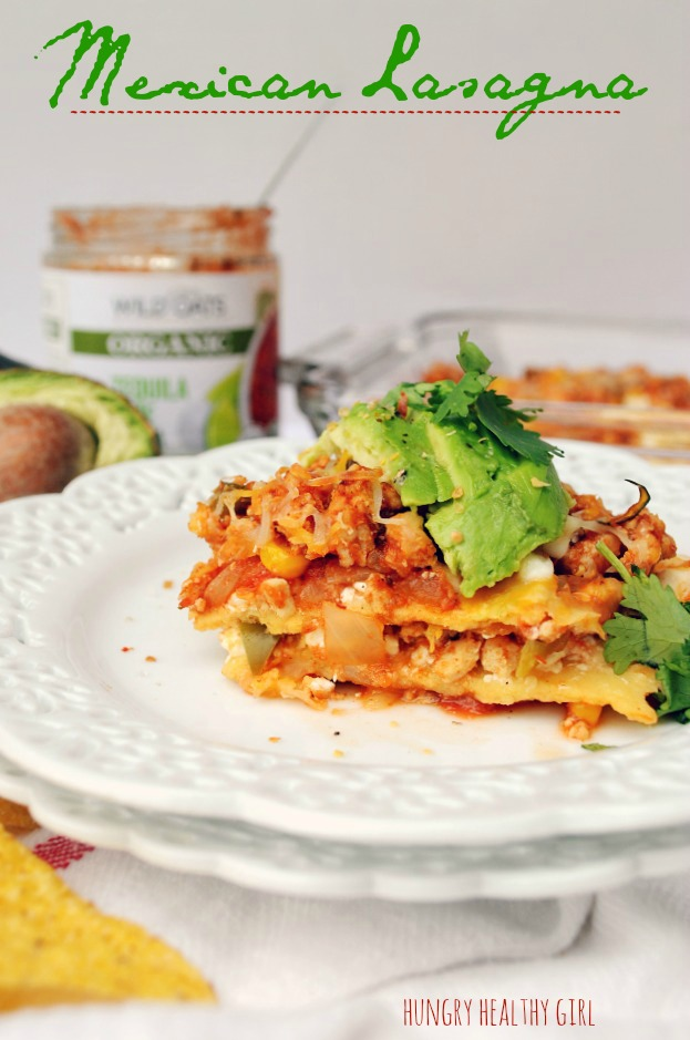 Mexican Lasagna- The traditional lasagna gets a kick in this Mexican inspired meal!