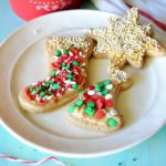 Skinny Cut Out Sugar Cookies and Holiday Traditions