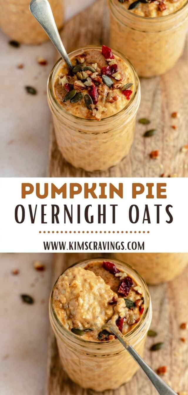 recipe for Pumpkin Overnight Oats
