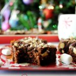 Hot Cocoa Almond Brownies