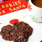 Fudgy Candy Cane Cookies