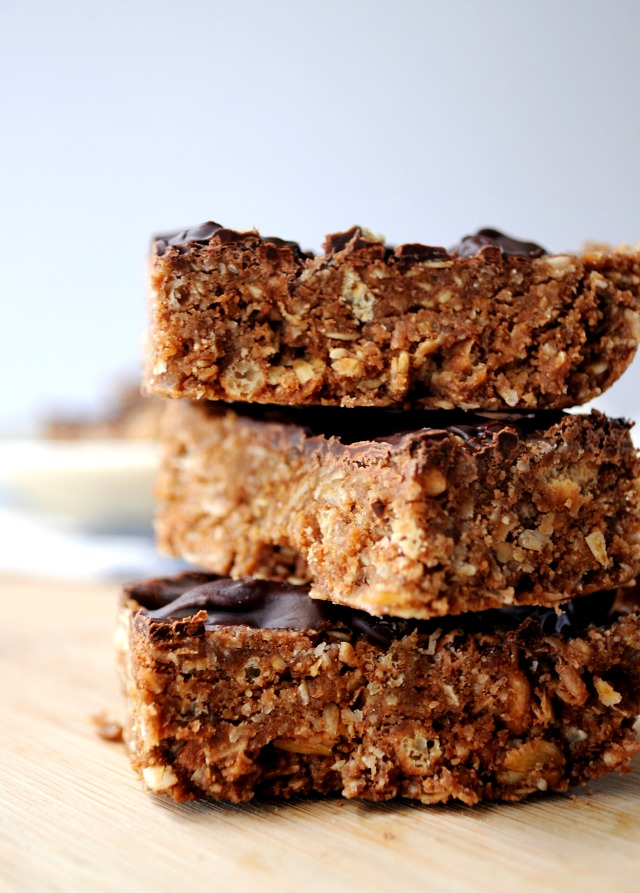 Protein Bars made with Aloha Premium Protein Powder