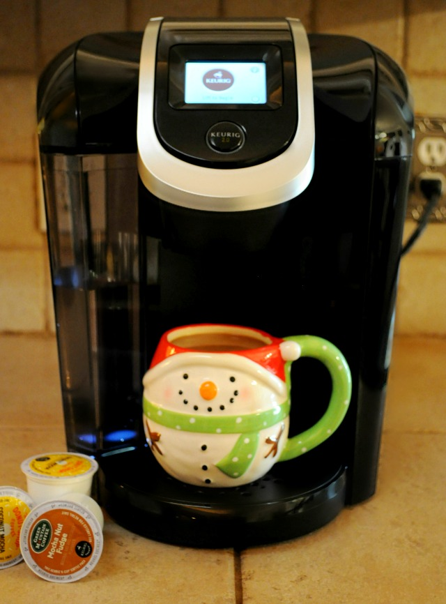 The New Keurig 2.0- the perfect gift for your coffee loving friend or family member!