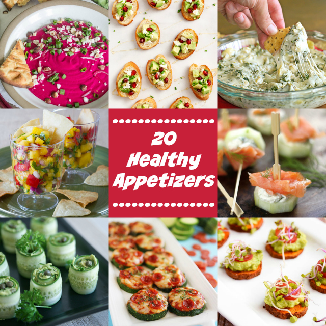 20 Healthy Appetizers for the Perfect Party