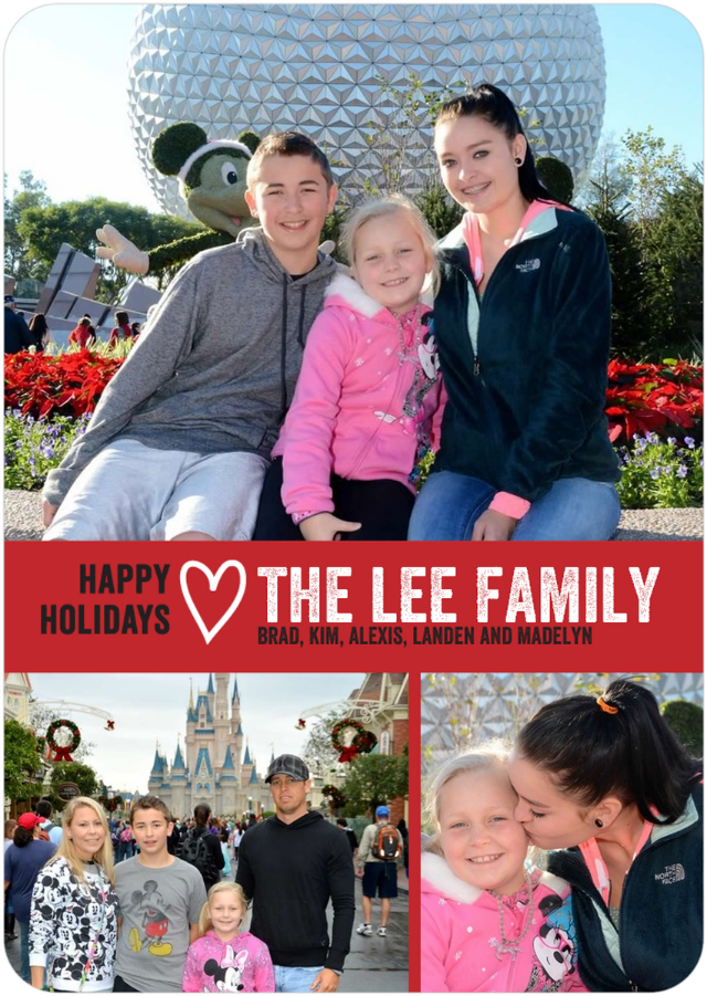 Happy Holidays from The Lee Family