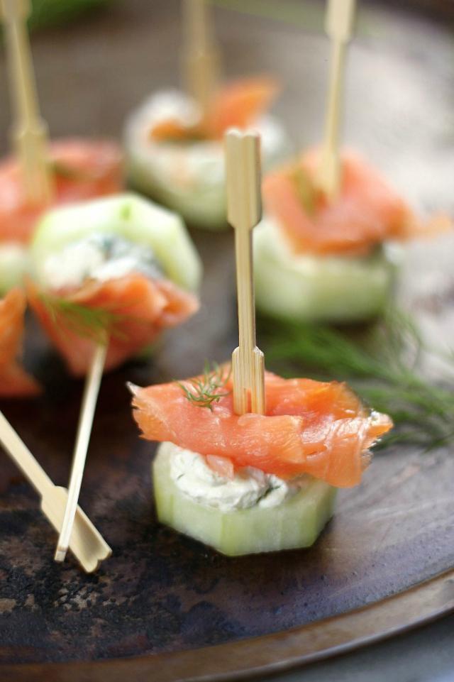 salmon bites