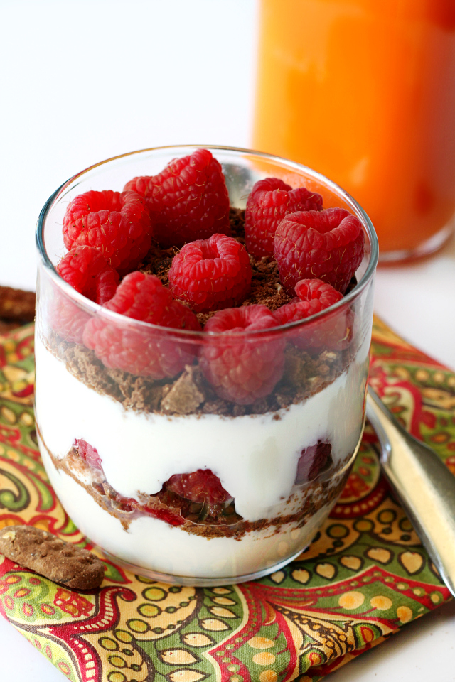 Start the day with a good breakfast that will give you the energy to stay active and accomplish your goals.