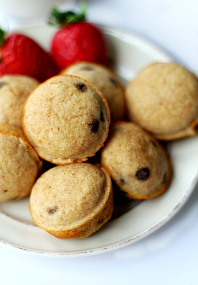 Chocolate chip pancake poppers kims cravings chocolate chip pancake poppers your favorite pancake in cute portable mini popper form ccuart Images