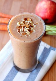 Carrot Apple Protein Smoothie