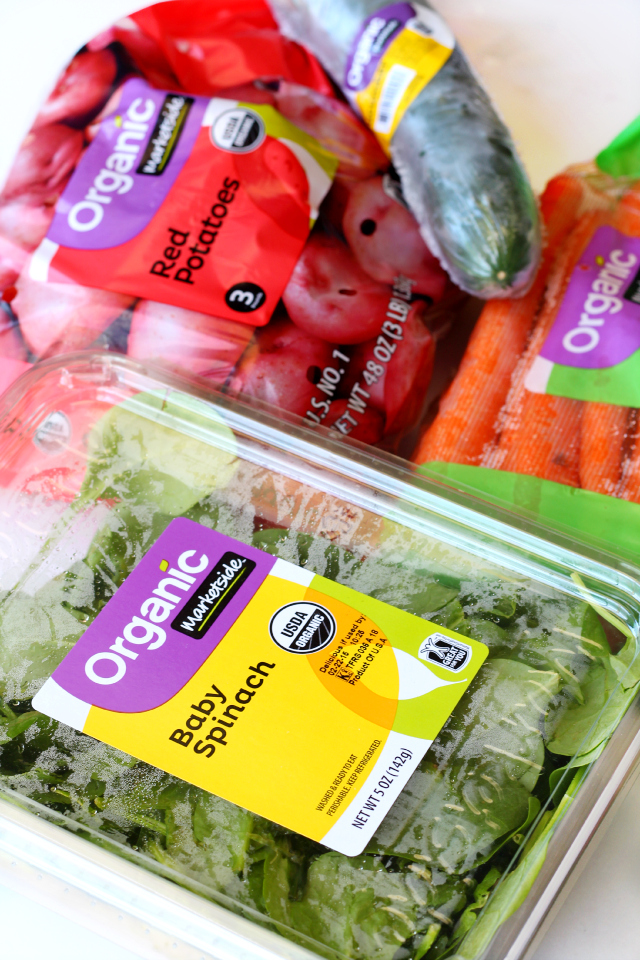 Marketplace organic produce for Walmart