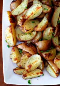 Easy Roasted Dill Potatoes