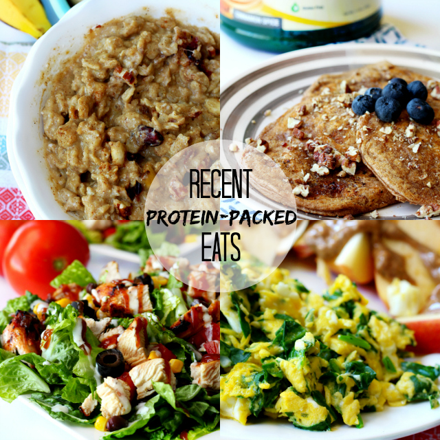 Recent Protein-Packed Eats