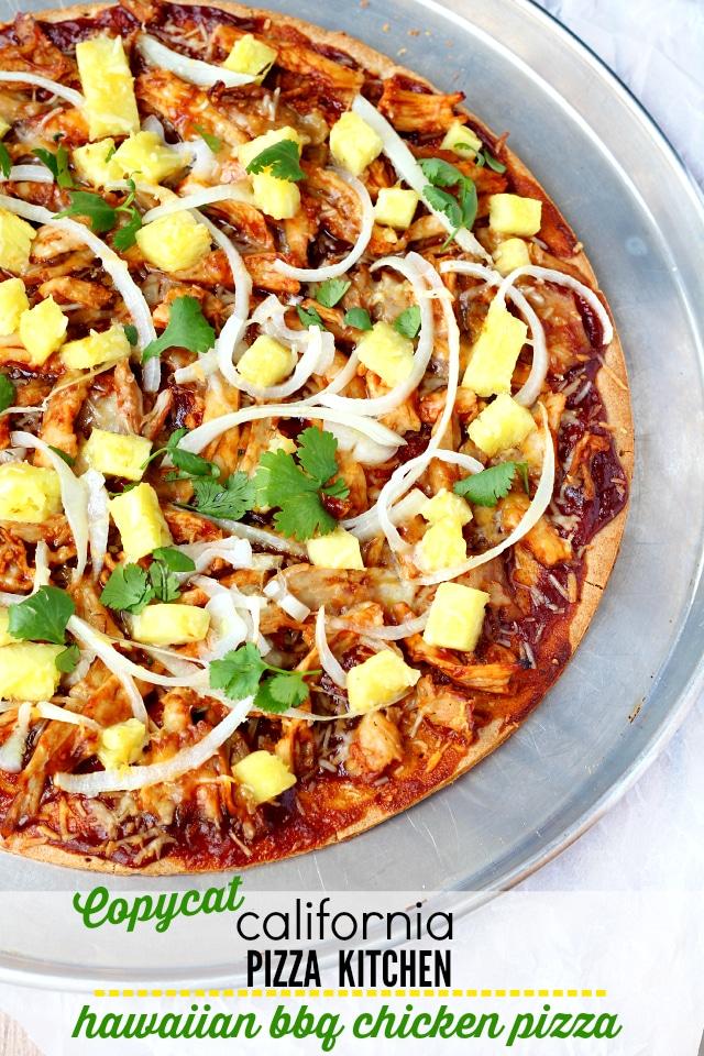 Hawaiian BBQ Chicken Pizza Kim s Cravings