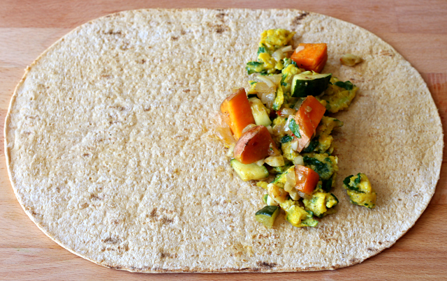 Sweet Potato Breakfast Burritos- make ahead, freezer friendly and ready when you are!