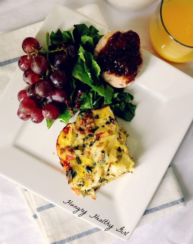 Healthy Italian Sausage Egg Bake