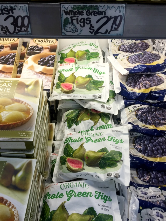 Organic Frozen Figs