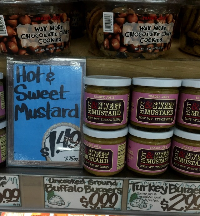 Hot and Sweet Mustard