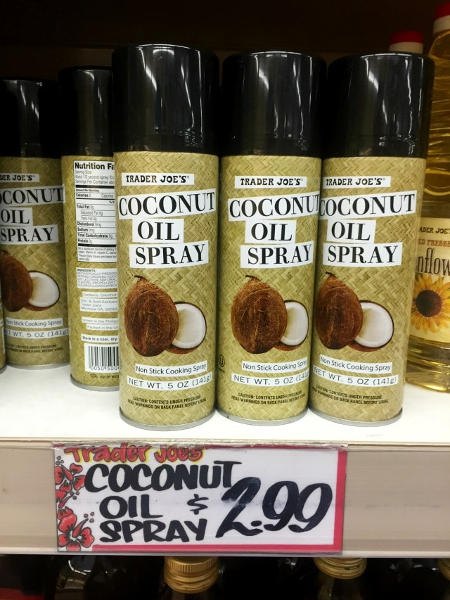 how to make coconut oil cooking spray