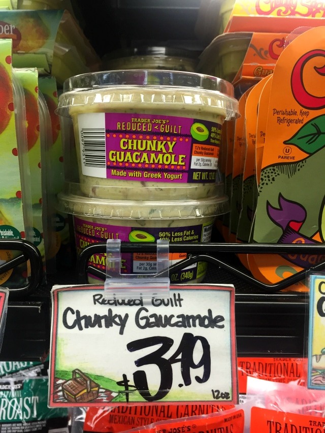 Reduced Guilt Chunky Guacamole