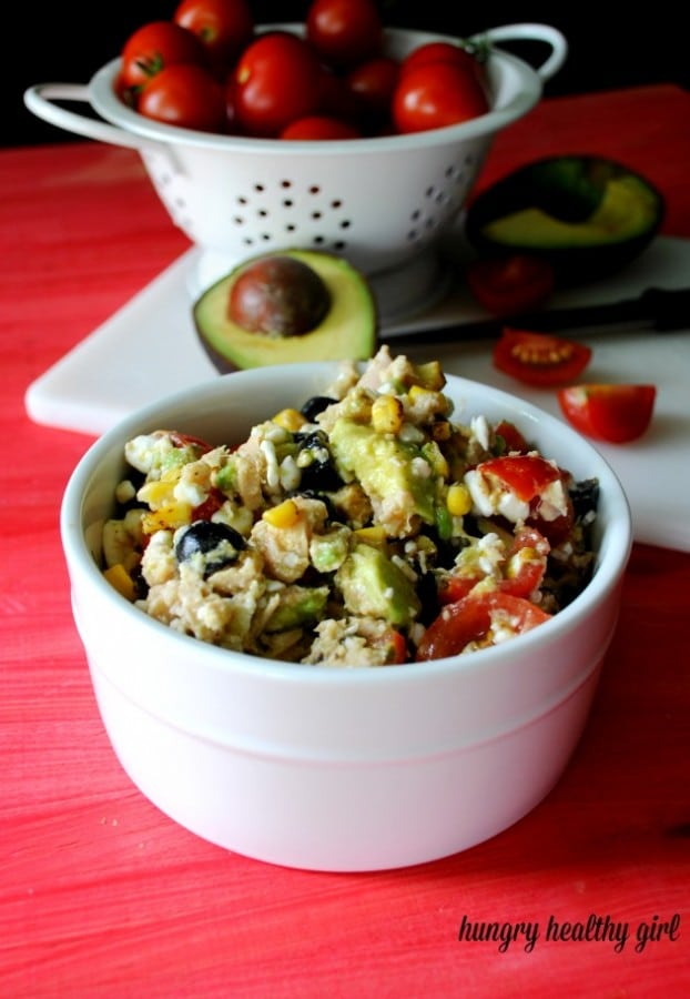 cottage cheese tuna salad