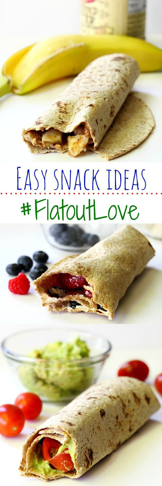 Easy Snack Ideas with Flatout