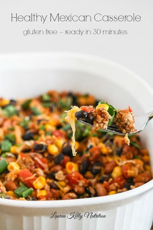 Healthy Mexican Casserole