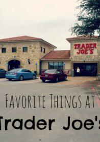 rite Things at Trader Joe's