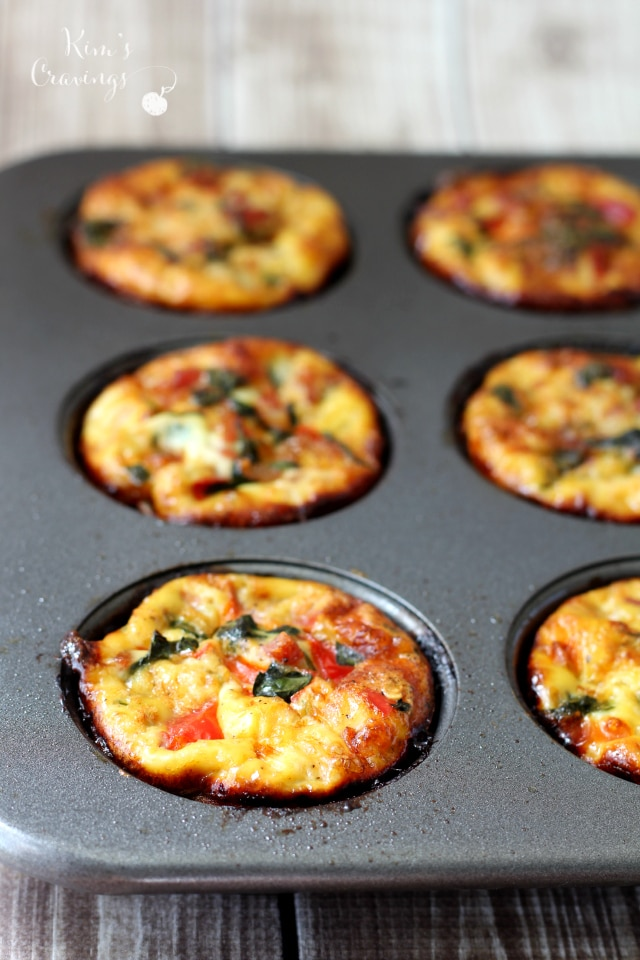 These tasty quiche cups were quickly cobbled up by the whole family. And there I was hoping for leftovers! I think I may need to double the recipe next time. Quiche cups would make a super convenient grab-n-go snack or breakfast.