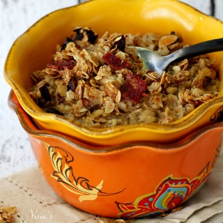 Quick and Easy Bacon Granola