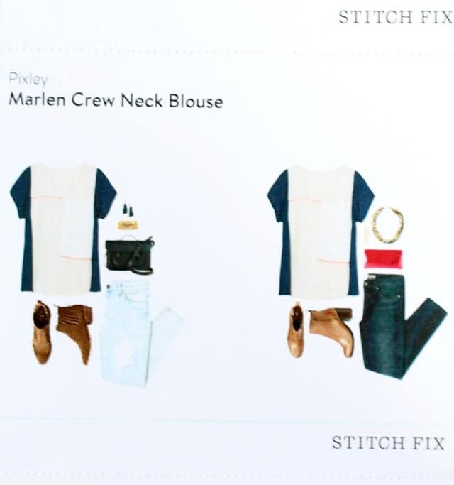 Pixley Marlen Crew Neck Blouse