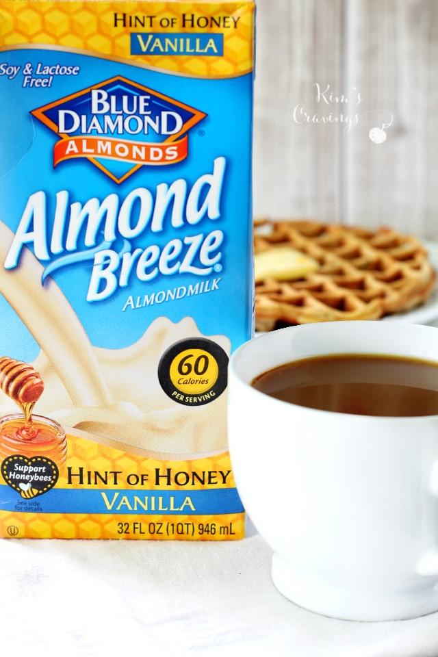 hint of honey vanilla almond milk