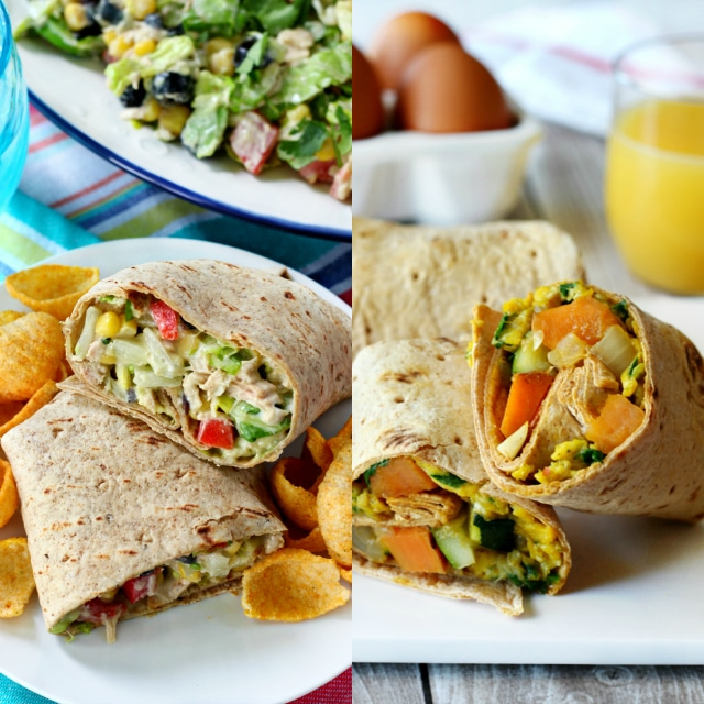 Healthy High-Protein Wrap Ideas- jazzed up and delicious wrap recipes!