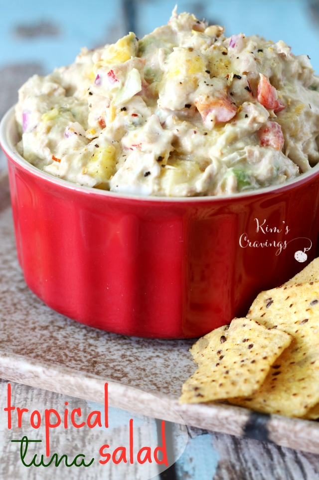 Mango, pineapple and avocado combine in this tropical tuna salad for a mouth-watering, refreshing flavor.