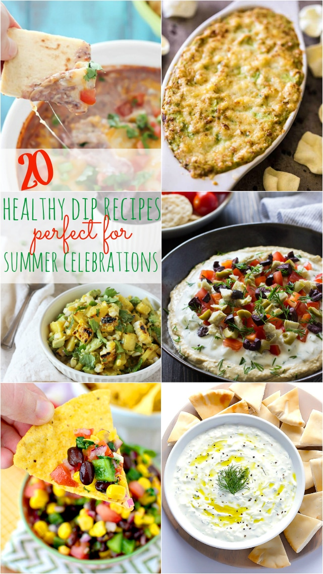 20 Healthy Dip Recipes Perfect for Summer Celebrations