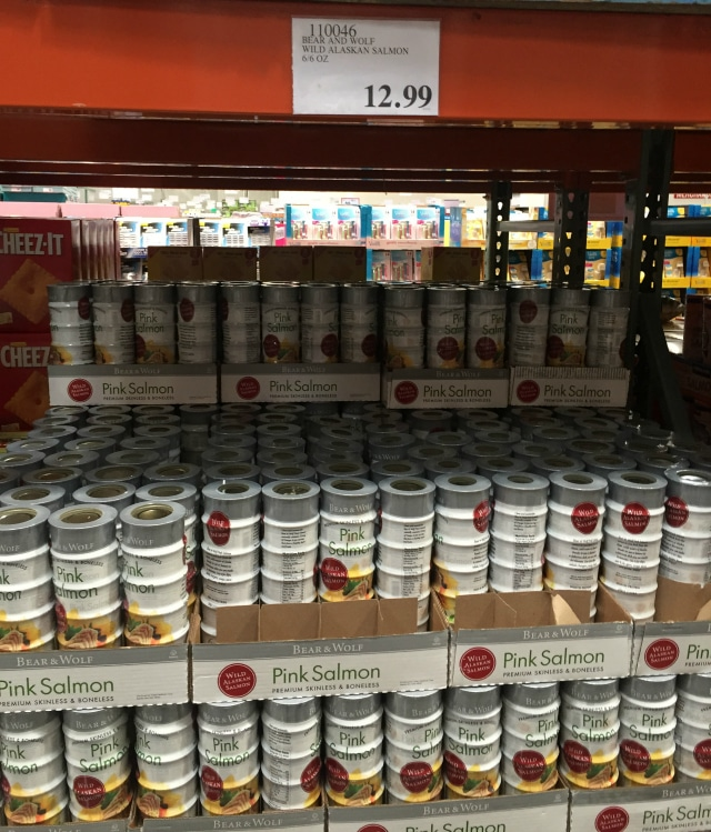 canned salmon from Costco
